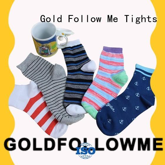 socks supplier promotional for wholesale GOLDFOLLOWME