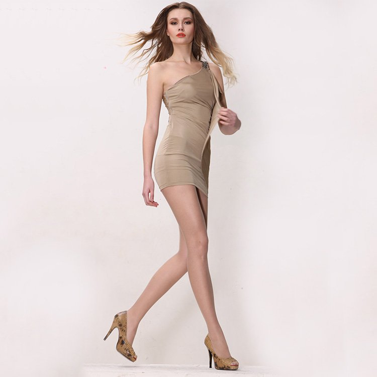 GOLDFOLLOWME Comfortable 8D Sheer Tights Gold Follow Me Sheer Tights image5