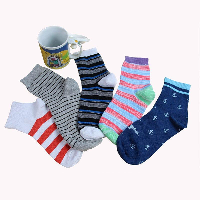 Mens-socks Ladies-Socks Gold Follow Me