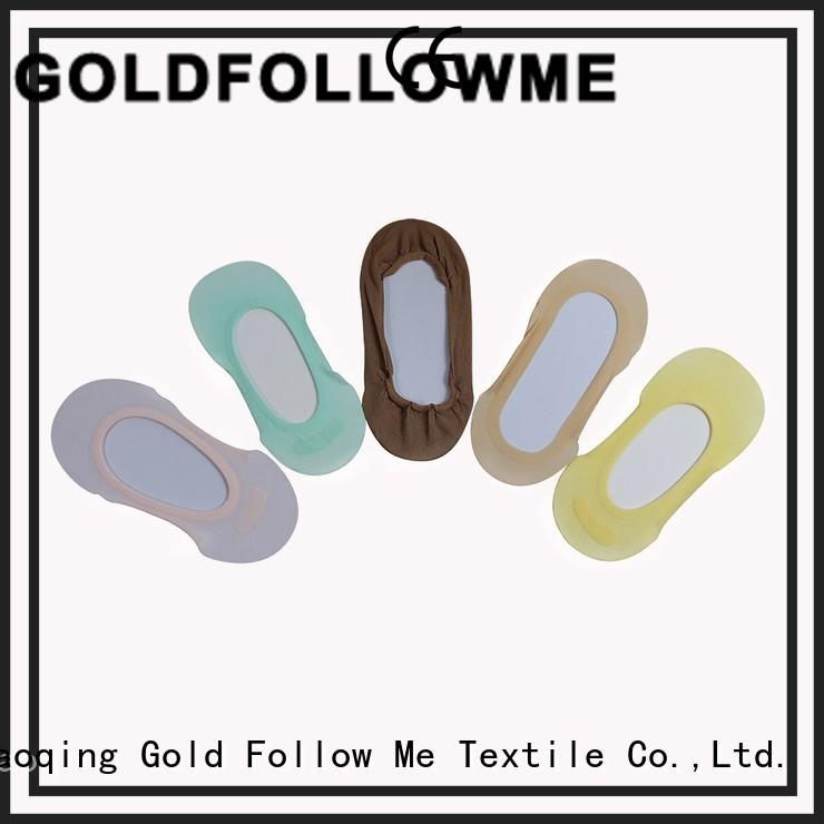 GOLDFOLLOWME high-quality shoe liner socks comfortable bulk production