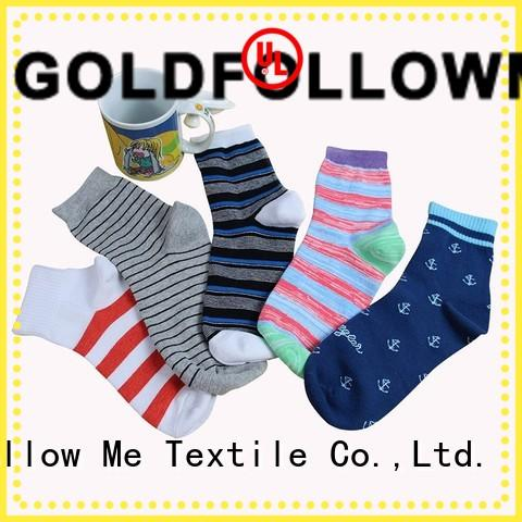 GOLDFOLLOWME hot-sale custom socks wholesale comfortable for sale