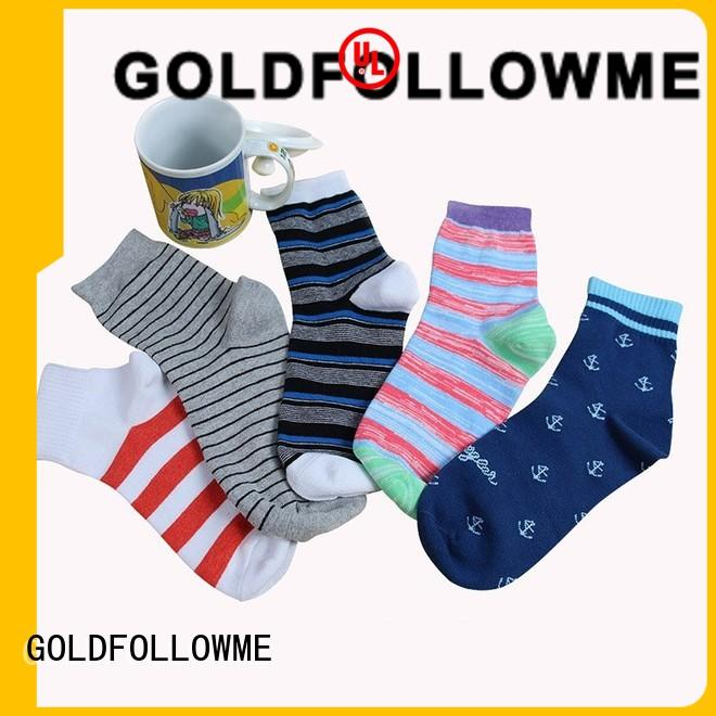 GOLDFOLLOWME top-brand custom socks wholesale comfortable for customization