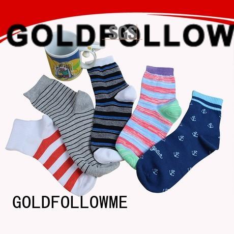 GOLDFOLLOWME hot-sale custom sock manufacturers free sample for sale