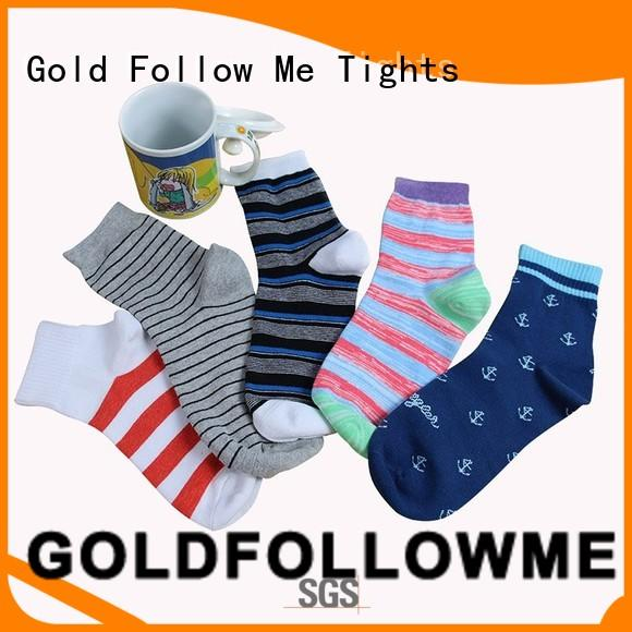 GOLDFOLLOWME cheapest factory price custom sock manufacturers comfortable for sale
