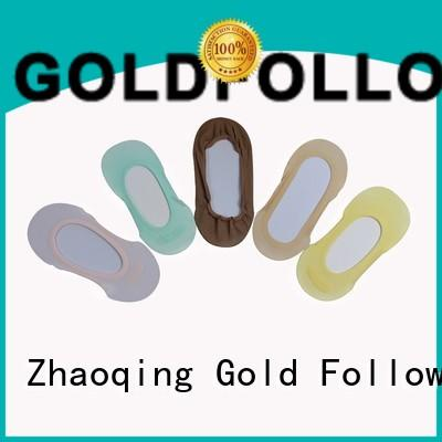Wholesale follow nylon foot liners liners GOLDFOLLOWME Brand