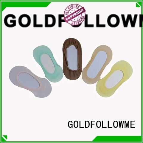 GOLDFOLLOWME hot-sale cotton foot liners free sample for customization