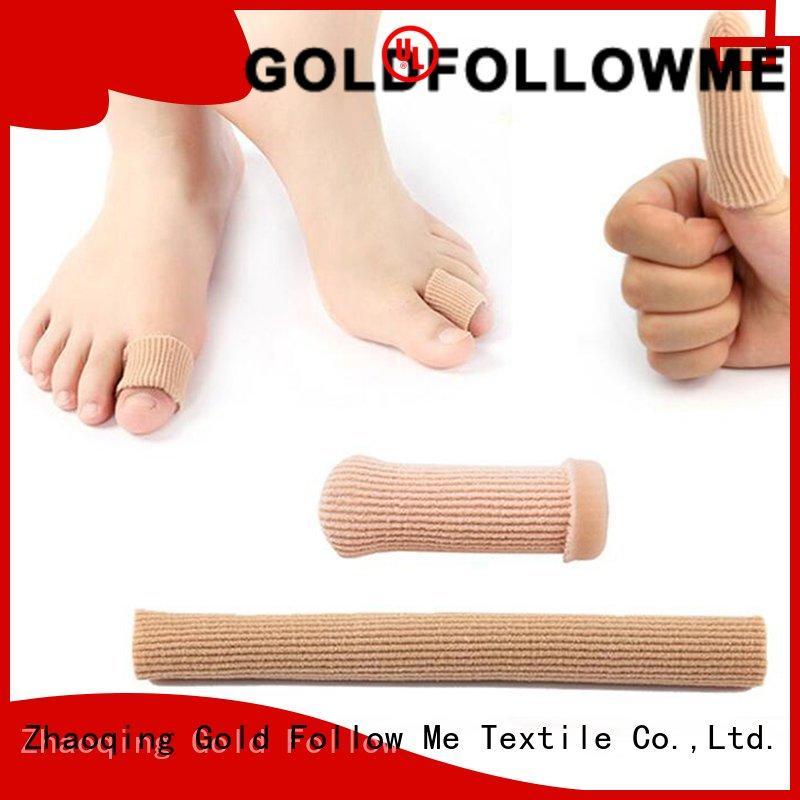 Soft Silicone Toe Protector Gold Follow Me