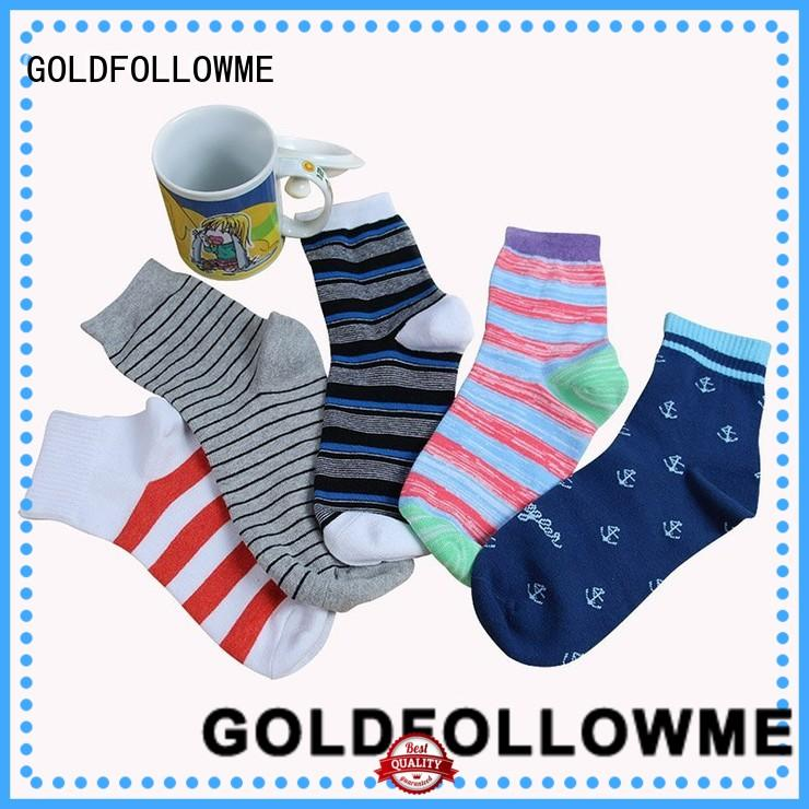 GOLDFOLLOWME high-quality custom socks bulk free sample for wholesale