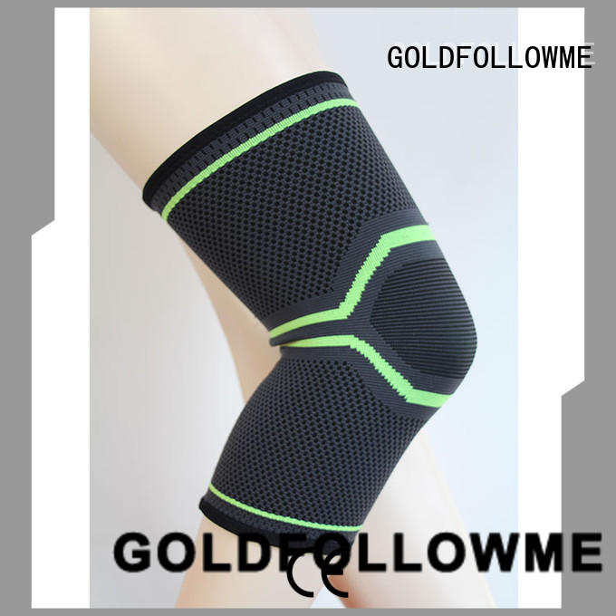 custom knee brace sleeve top-selling top brand GOLDFOLLOWME
