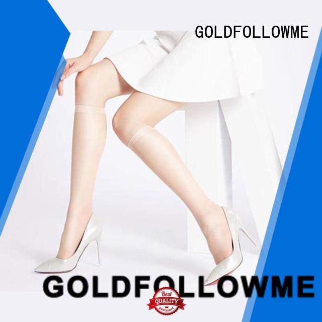 best quality womens knee high socks wholesale price by bulk GOLDFOLLOWME
