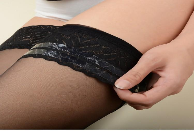 black hold up stockings highly-rated comfortable bulk production