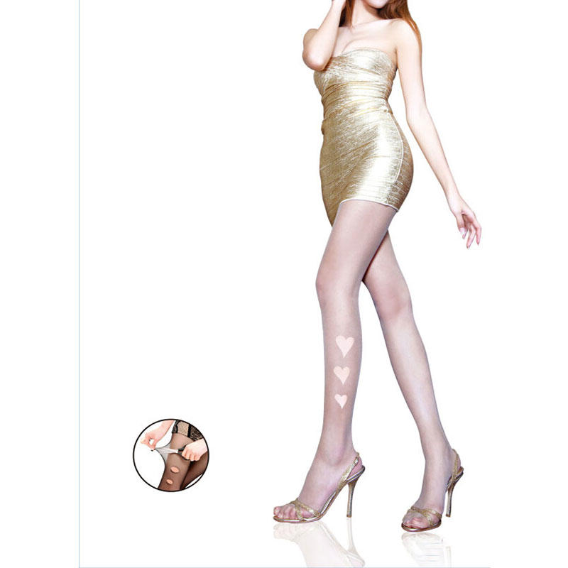 Fabric Soft 10D Sheer Tights Gold Follow Me