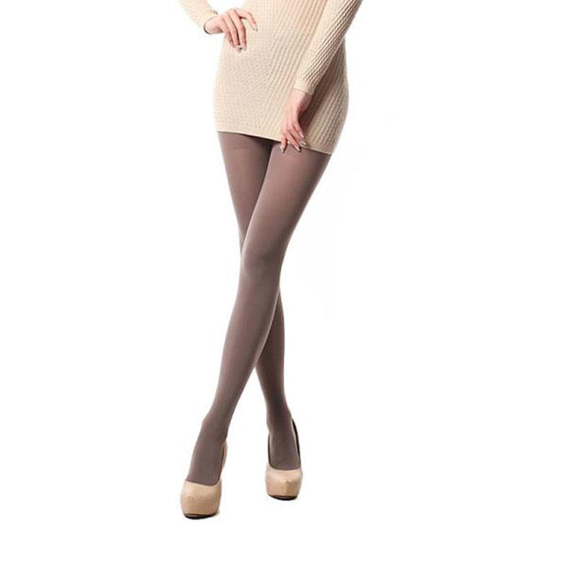 Hot Sexy Ladies 80D Opaque Tights Gold Follow Me
