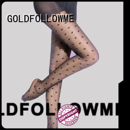 GOLDFOLLOWME low-cost sheer patterned tights eye-catching for wholesale