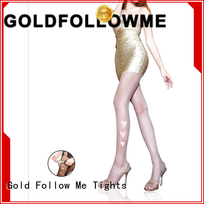 Fabric Soft 10D Sheer Tights Gold Follow Me