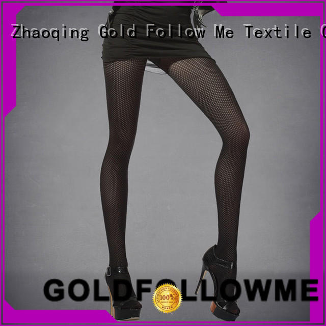 GOLDFOLLOWME low-cost women's patterned tights best factory price for customization