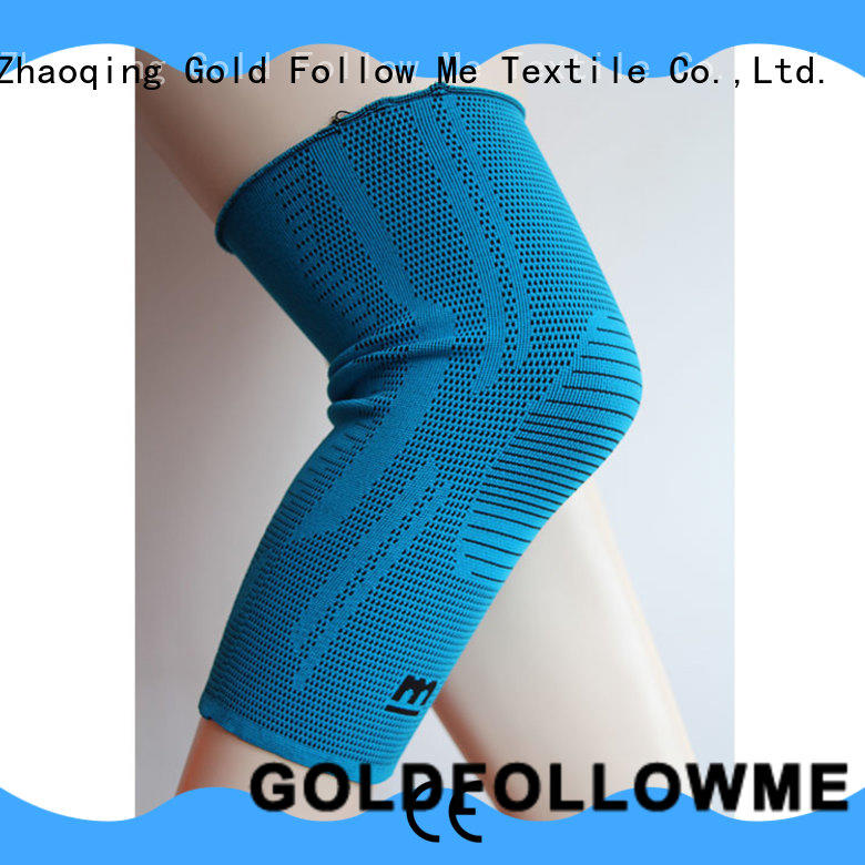 GOLDFOLLOWME protective workout knee sleeves bulk order top brand