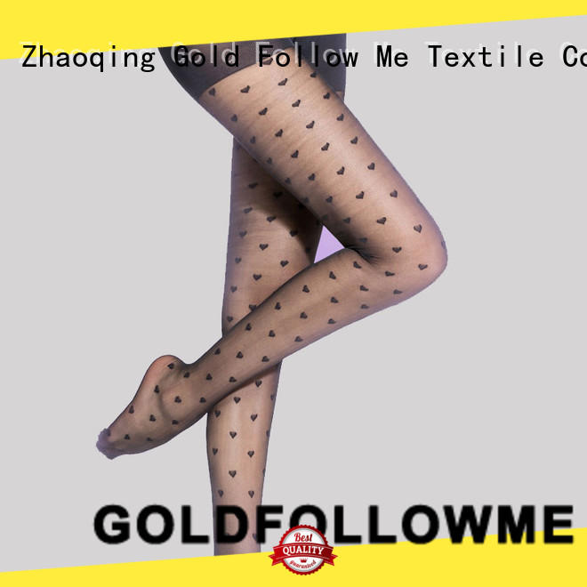 GOLDFOLLOWME hot-sale patterned hosiery best factory price for sale