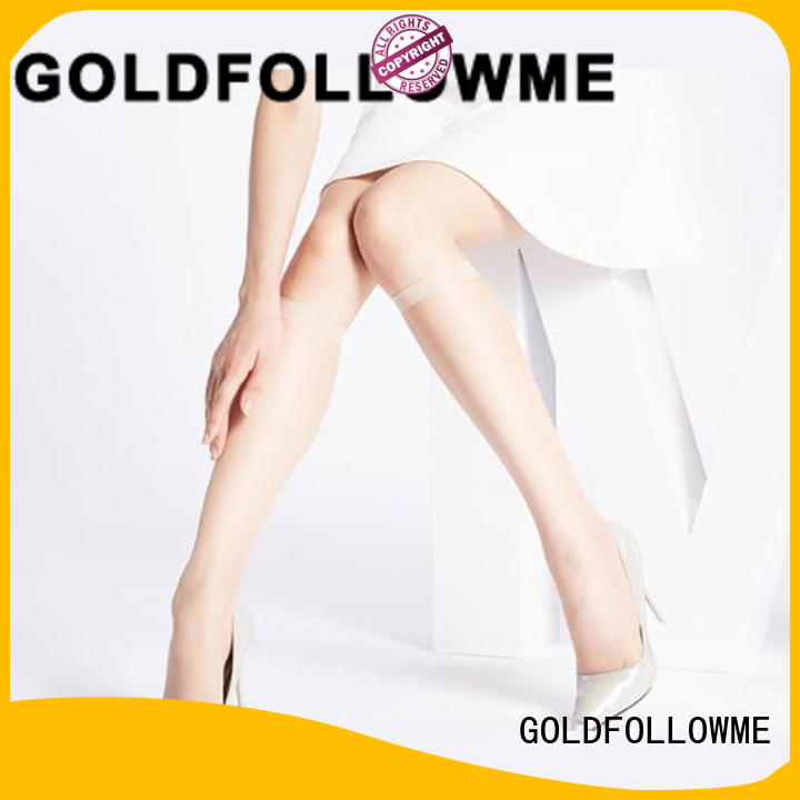 GOLDFOLLOWME on-sale knee high tights OBM bulk production