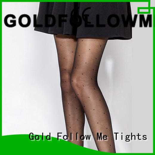 GOLDFOLLOWME comfortable women's patterned tights eye-catching for customization