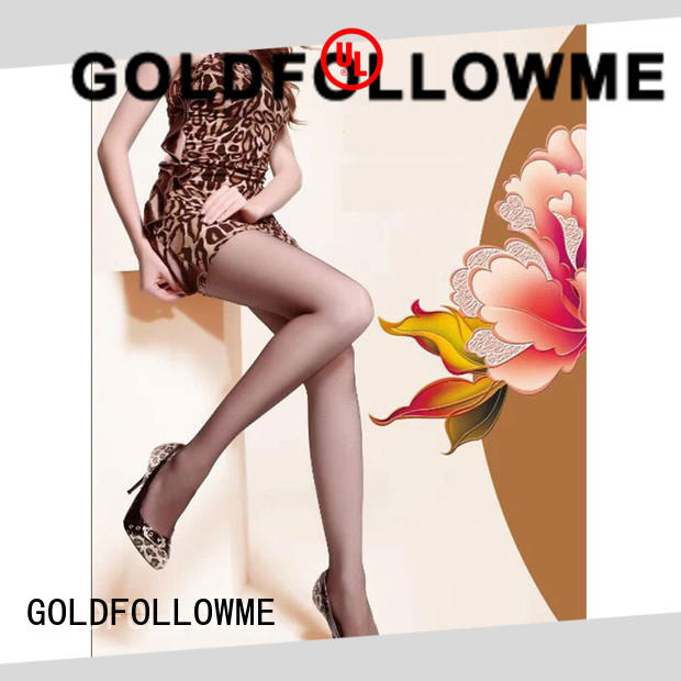 GOLDFOLLOWME top brand open toe tights at stock