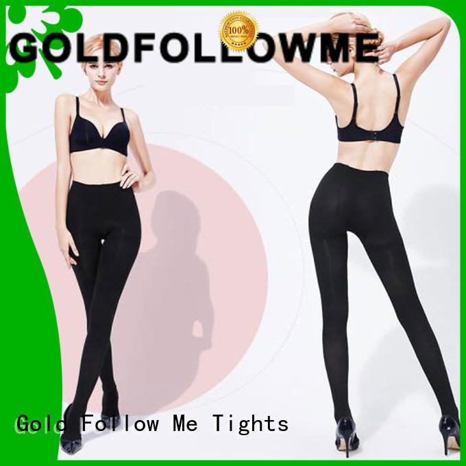 Sexy Shiny Glossy 60D Opaque Tights Gold Follow Me