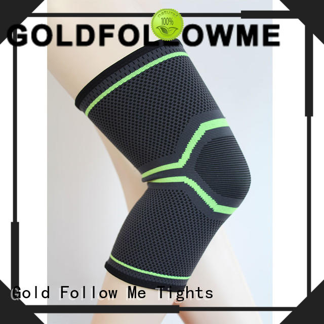 GOLDFOLLOWME durable knee support sleeve wholesale price at stock