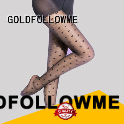 GOLDFOLLOWME high-quality women's patterned tights eye-catching for sale