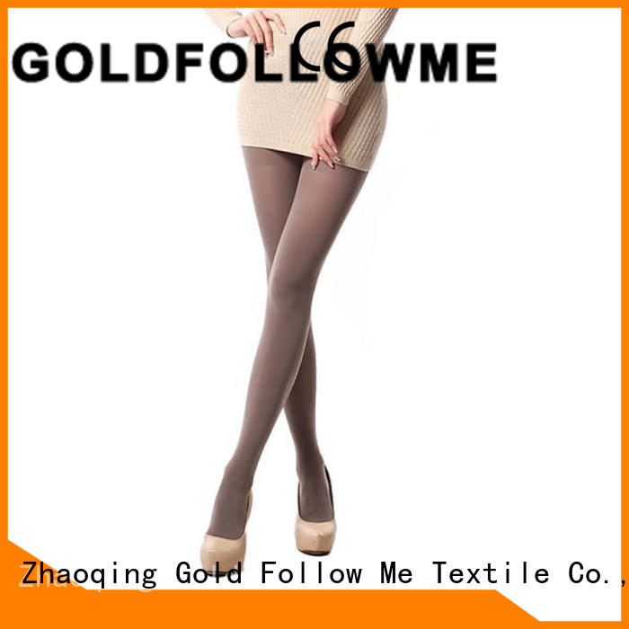 GOLDFOLLOWME wholesale black opaque tights popular at discount