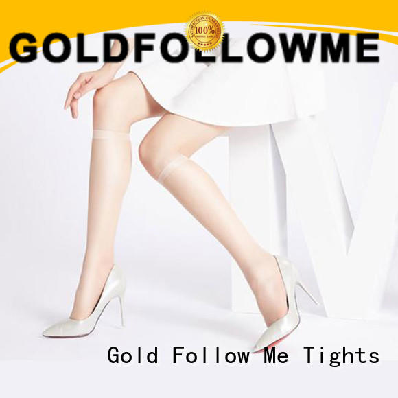 GOLDFOLLOWME top brand knee high socks and tights at discount