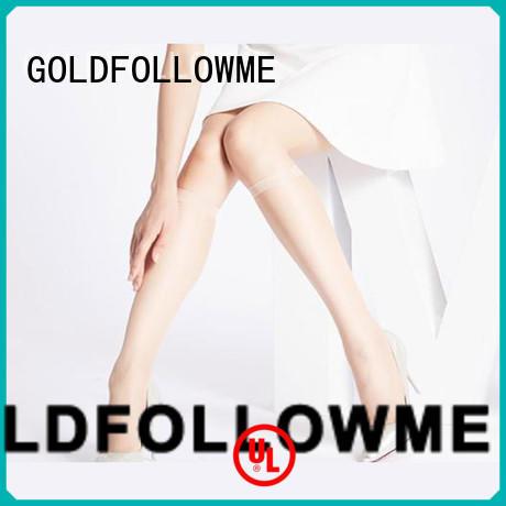 knee high stockings wholesale price bulk production GOLDFOLLOWME