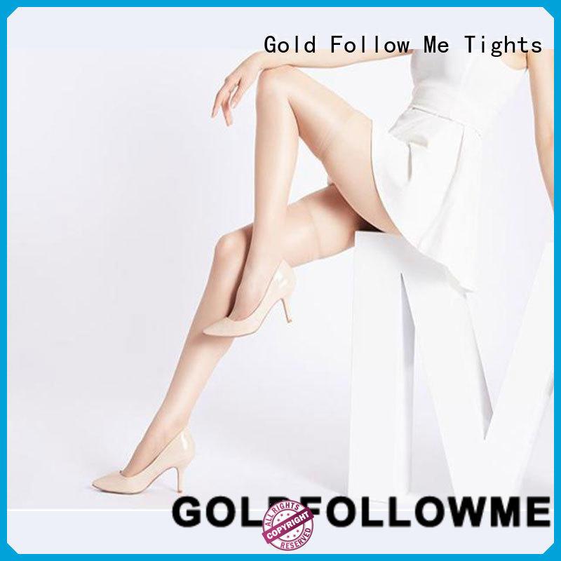 GOLDFOLLOWME on-sale black hold up stockings durable bulk production