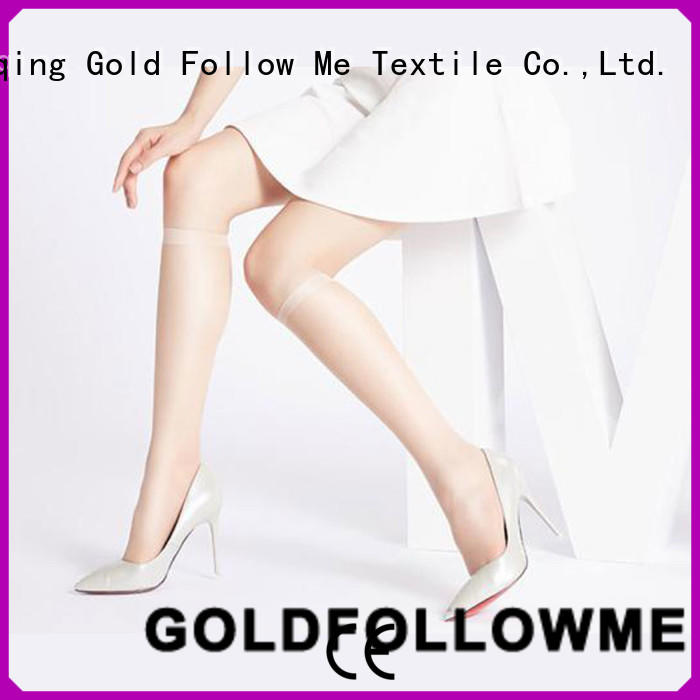GOLDFOLLOWME knee high lace tights comfortable at discount