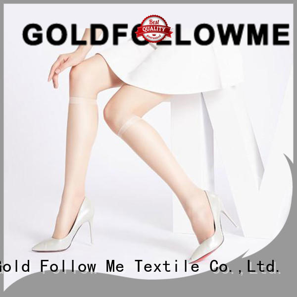 GOLDFOLLOWME knee high tights at discount