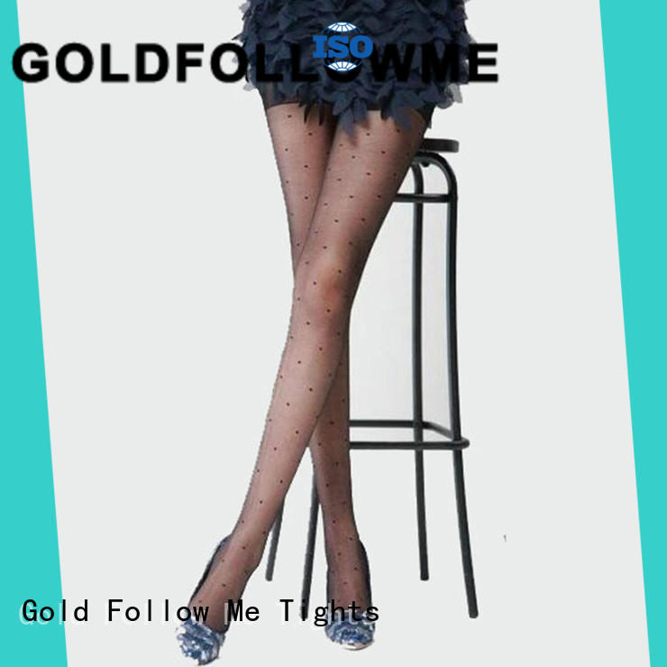 GOLDFOLLOWME free delivery patterned hosiery eye-catching for sale