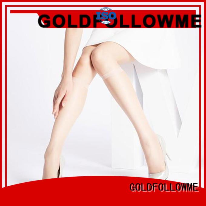 GOLDFOLLOWME top brand knee high stockings OEM bulk production