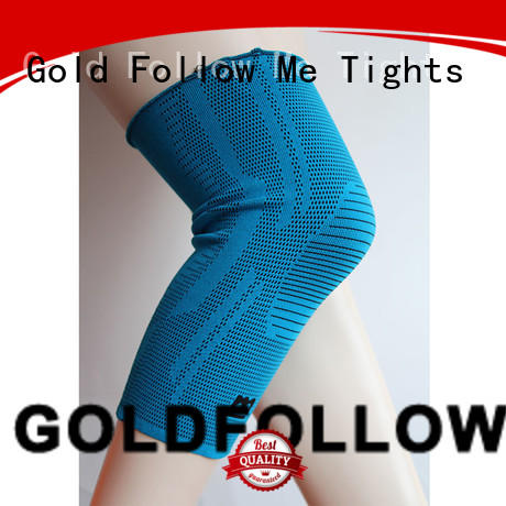 GOLDFOLLOWME top brand compression knee support top-selling at stock